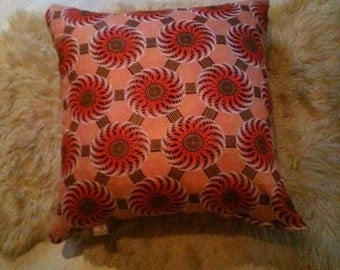 African Printed cushion