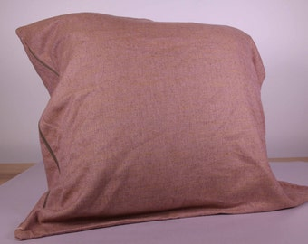 Dusty Pink Large Cushion Cover (60cm x 60cm)
