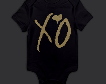 XO Drake The Weeknd Onesie