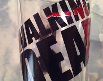 TWD, The Walking Dead glass!