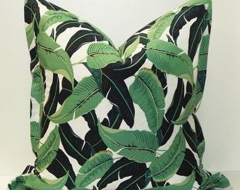 Tropical Leaf Decorative Pillow