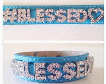 Brand New #Blessed Wrist Wrap Bracelet