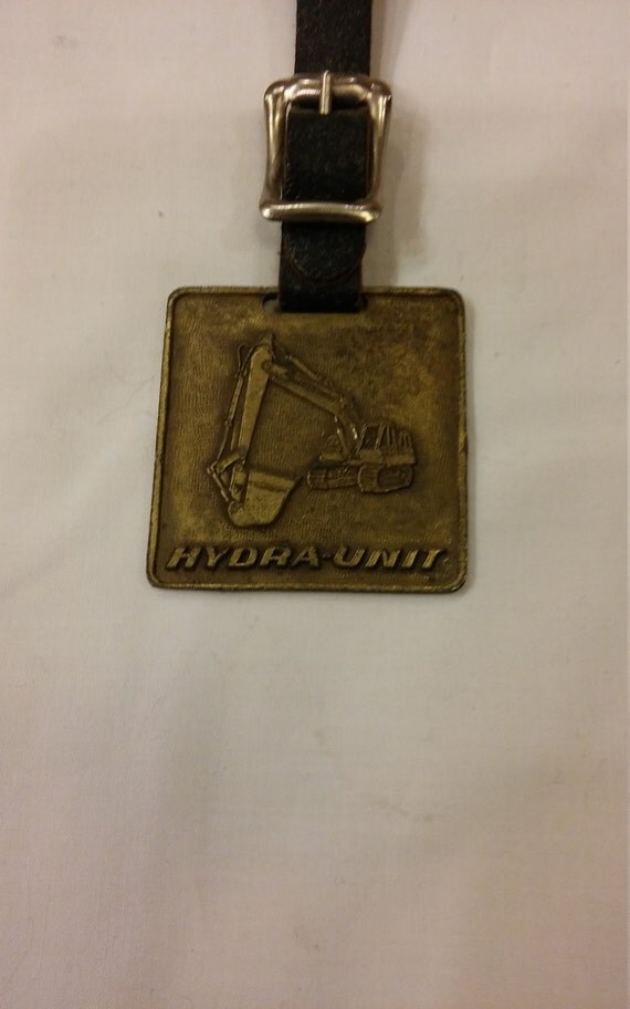 Vintage Unit Crane & Shovel Corp. Watch FOB New Berlin, Wisconsin