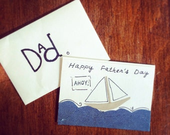 Happy Father's Day Card - Nautical