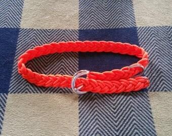 Orange Baby Belt