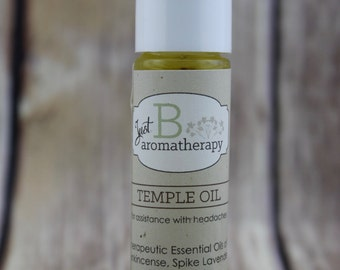 Just B Aromatherapy Temple Roll-On
