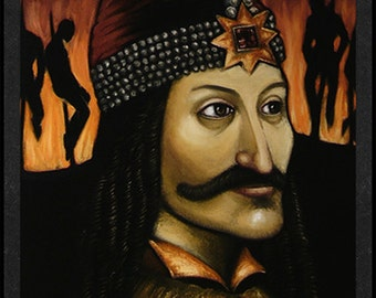 Vlad Tepes is Card Number 18 from the Original Serial Killer Trading Cards