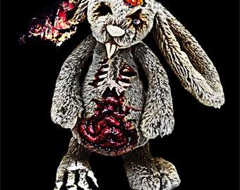 Zombie Bunny ***Warning*** Very Scary Shirt