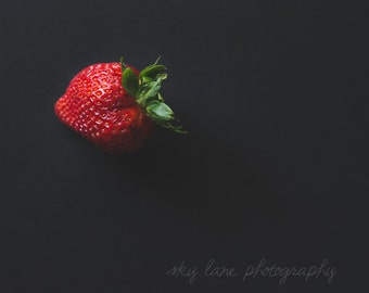 Strawberry Photography Print | Choose Any Size