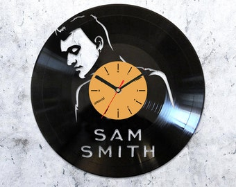 Sam Smith vinyl clock,Sam Smith vinyl record clock,Sam Smith record clock,Sam Smith vinyl clocks,4912016
