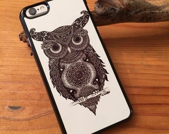 Thoughtful Owl Iphone 6 Case/Cover - by Moondala Designs