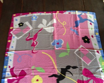 Tiffany and Co. scarf-bow/figure/flower design