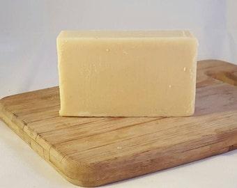 Raw Goat milk shampoo ginger patchouli