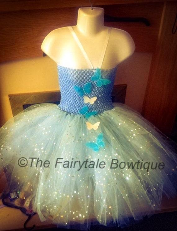 2015 Edition Cinderella Style Tutu Dress. Handmade and Unique