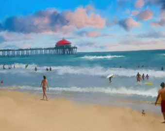 An Idyllic Day By The HB Pier