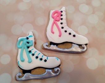 Ice skate Cookies!
