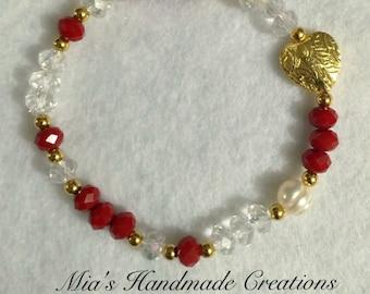 Simple & Red Bracelet