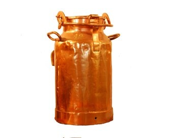 Copper Milk Can 12 Vintage