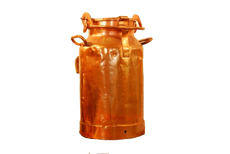 Copper Milk Can 12 Vintage