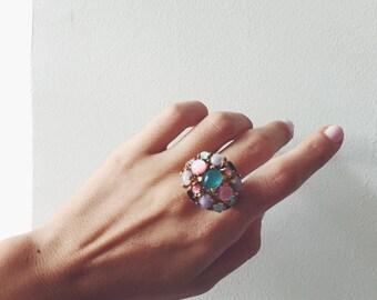17 Jewels Vintage Ring