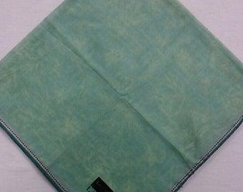 Vintage Autenthic Lanvin Paris Handkerchief 18.5 Inch Square