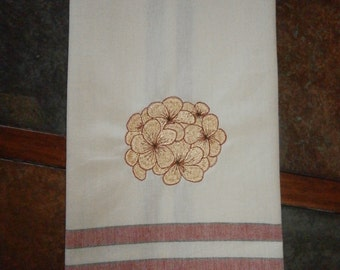 Kitchen Towel - Gold Ball of Flowers