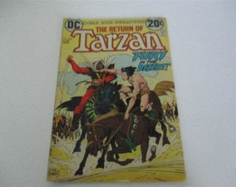Vintage Edgar Rice Burroughs The Return of Tarzan DC Comic Book 220 1973