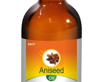 Aniseed Oil - Pure & Natural - 5ml to 250 ml