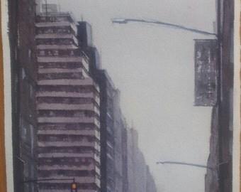 Avenue in New York