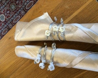 Napkin rings set of 6
