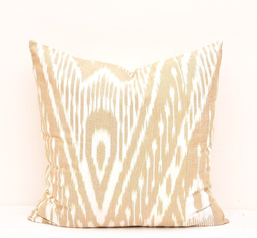 Peach Decorative Throw Pillows : Pillow Covers Peach Throw Pillow Cover Ikat Pillow Cover