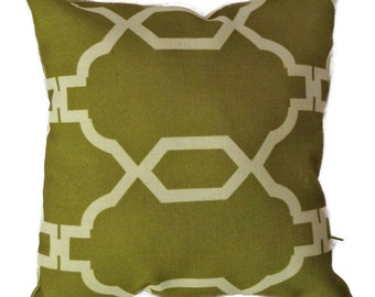Decorative Throw  Pillow Cover with Zipper 12x12 14x14 16x16 18x18 20x20