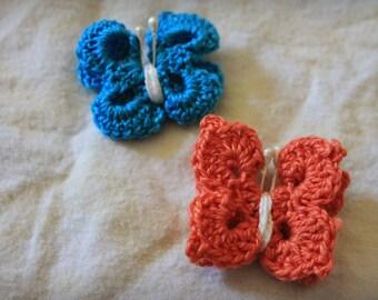 Crochet Butterfly 3D