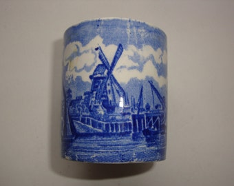 """Thames River Scenes by Palissy Pottery England """"View Near Greenwich"""""""