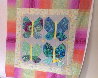 Butterfly lap quilts