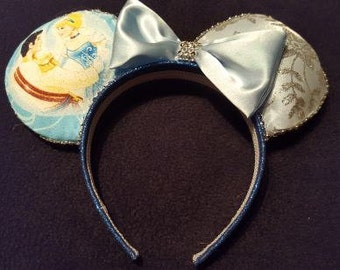 Prince Charming and Cinderella Ears Disney Inspired Ears