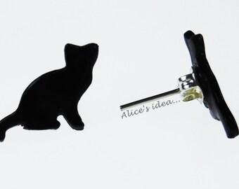 """Earrings ,,Cat"""" ."""