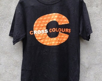 CLEARANCE SALE Cross Colours Big Logo Hip Hop Fashion Style