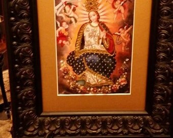 Immaculate conception of Mary
