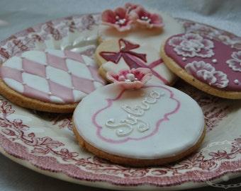 Set Birthday cookies