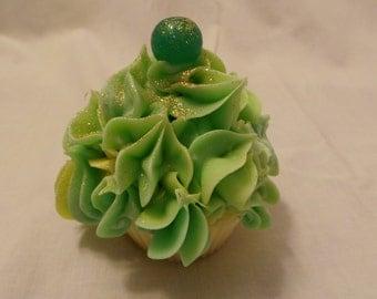 Soap Cupcake with Lemon Fragrance