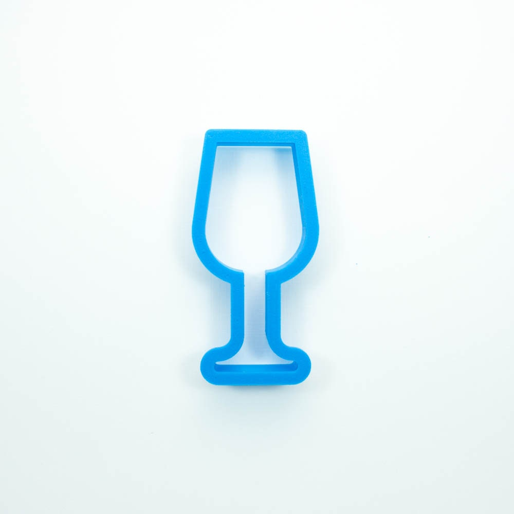 Wine Glass Cookie Cutter By FrostedCo On Etsy