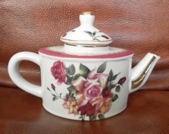 Miniature teapot movitex exquisite