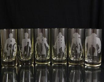 Set of 6 - Avengers Shot Glasses