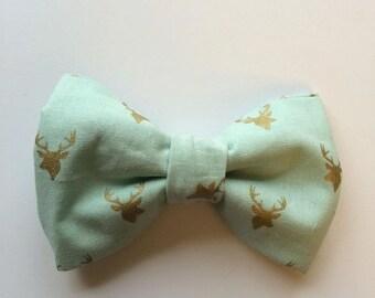 Dog Bow Tie, Dog Bowtie, Dog Bowties, Bow Tie For Cats, Bow Tie For Large Dog, Dog Accessories, Dog Bow Tie Wedding, Dog Bow Tie with green