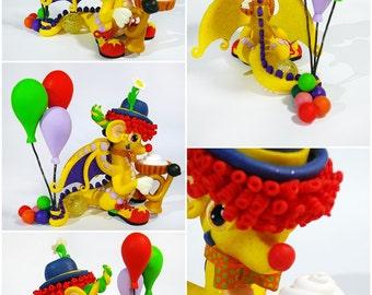 Dragon clown