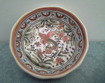 Hand painted bowl from Portugal