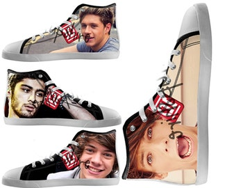 Custom Painted Shoes /One Direction Shoes / Men And Women Shoes