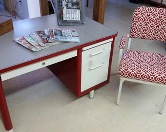 Vintage Industrial Desk Set
