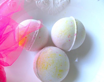 PINK TUTU Bath Bomb, Girly Bath Bomb, If Pink had a Scent this would be IT, Bath Fizzy, Spa Bomb, Fancy Bath Bomb